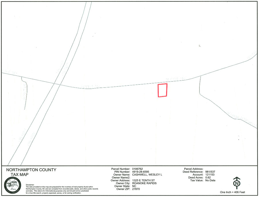Wesley's Housing Center Land for sale on Big John Store Rd in Northampton County, NC